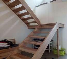 Menuiserie Lamotte - Pose d'escaliers